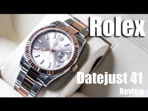 Rolex Datejust 41 Review