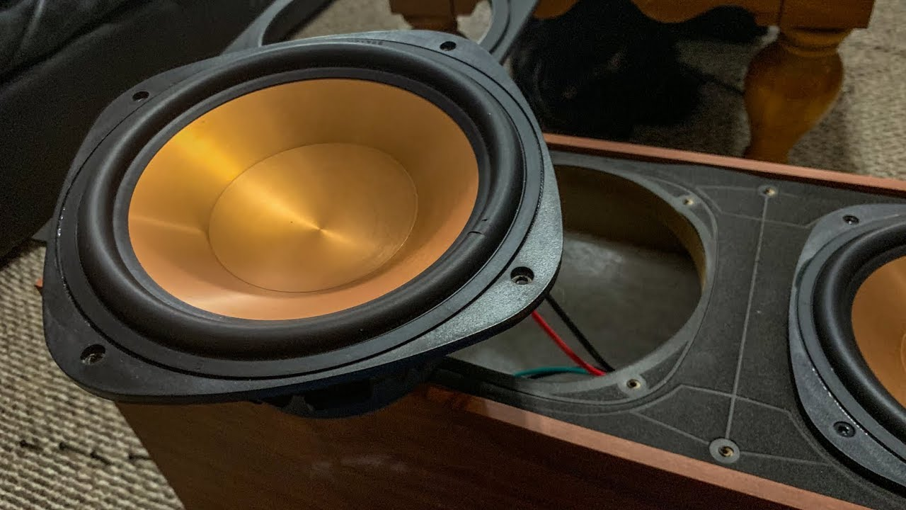 NEW DRIVERS: KLIPSCH REPLACEMENT