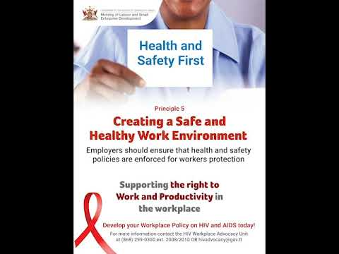 Principle 5 - Creating a Safe and Healthy Work Environment
