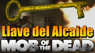 "Warden´s Key ""Llave del Alcaide"" - Mob Of The Dead Gameplay - Black Ops 2 Uprising Pack de Mapas"