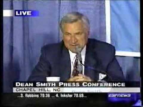 Dean Smith Retirement