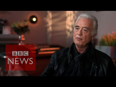 Led Zeppelin's Jimmy Page on Indian fusion tracks - BBC News