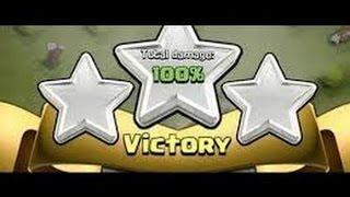 Clash of Clans   Th10 vs th10 lavaloonion ( lava hound balloon minion ) war attack 3 star