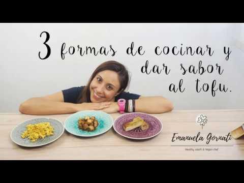 3 FORMAS DE COCINAR Y DAR SABOR AL TOFU