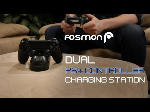 Best PS4 Controller Charger under $15! [Fosmon] C-10730