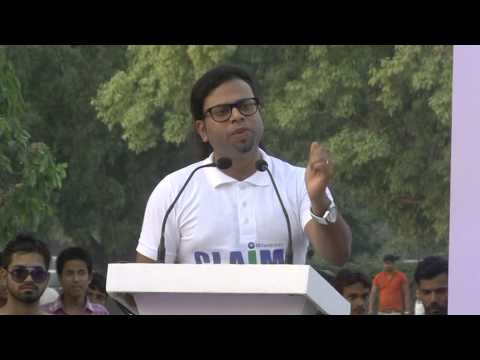 """Clean Air India Movement celebrating  """"World Environment Day"""" At India Gate (Whole Event)"""