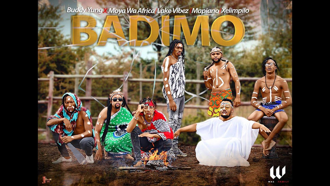 Buddy Yung, Badimo FT Moya Wa Africa, Mapiano, Xelimpilo &LakeVibez Official Audio