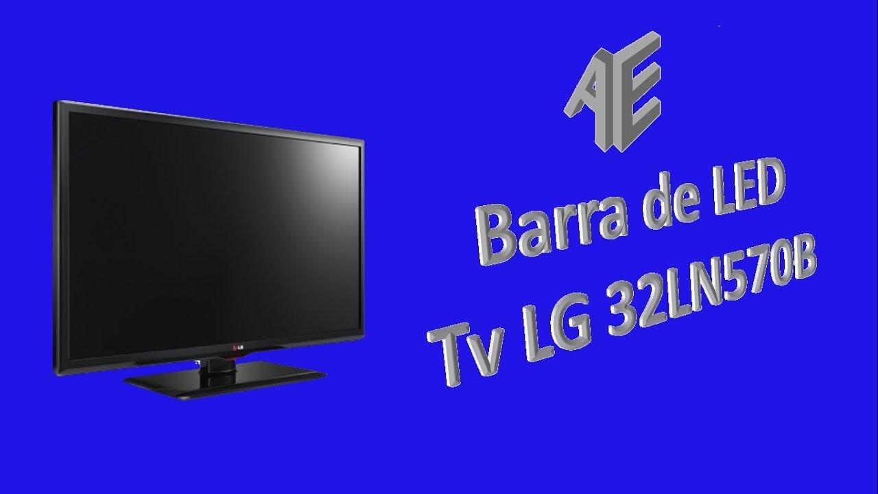 Barra De Led Tv Lg 32ln570b