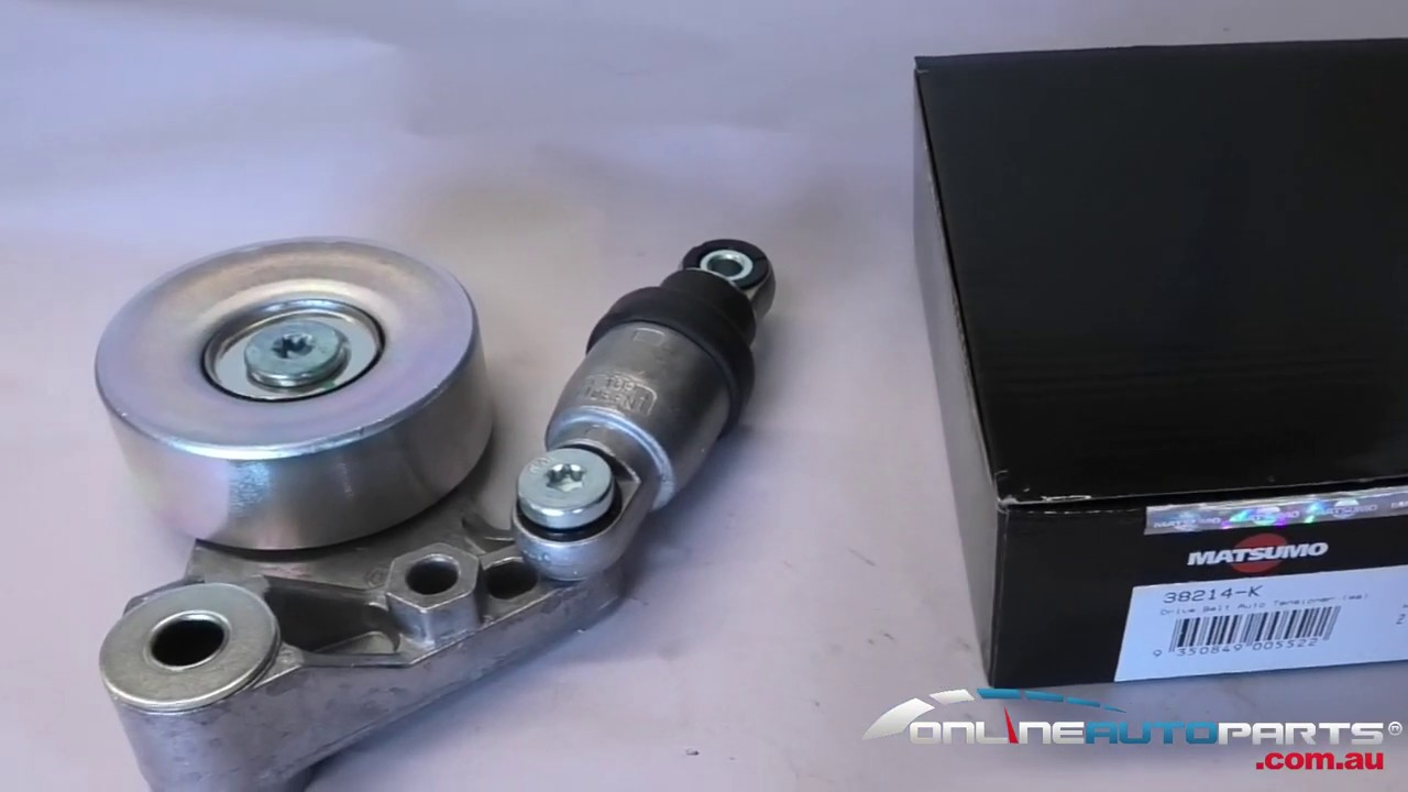 How to fit and replace ZD30 Nissan Patrol Nissan Navara Drive Belt  Tensioner Assembly Matsumo