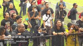 MONSTER OF METAL 2011 - HUMILIATION