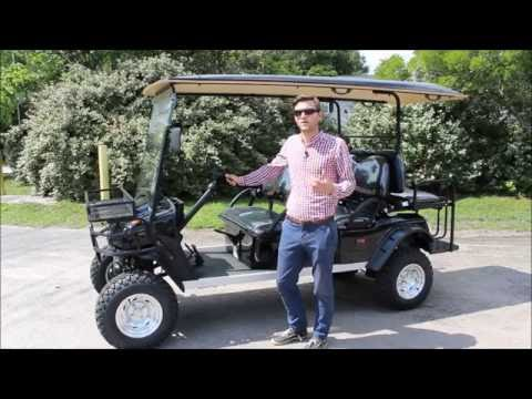 New 6pr Lifted Street Legal Golf Cart for Sale by citEcar Electric Vehicles