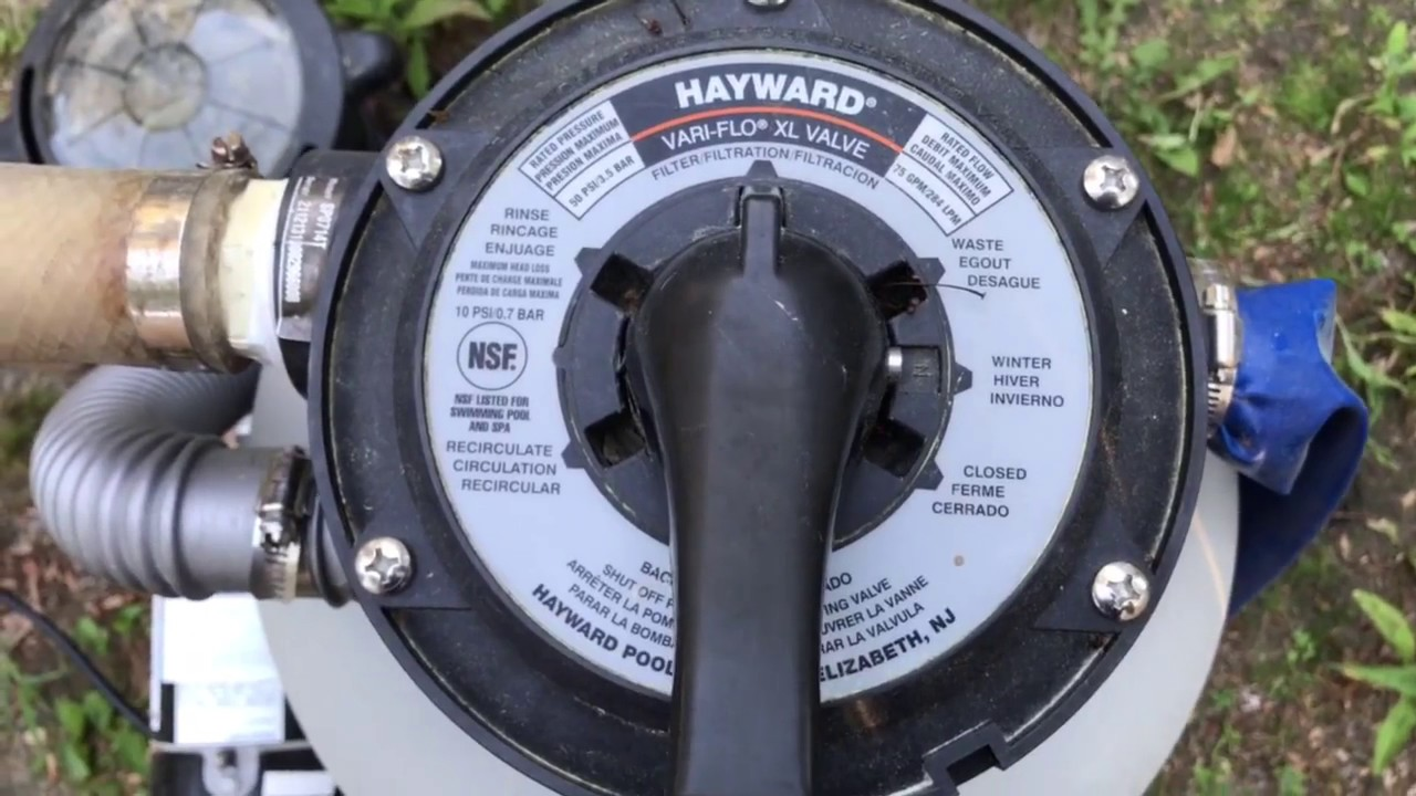 Jacuzzi Pool Filter Manual How To Use Different Pool Filter Valve Settings