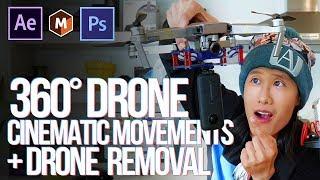 Invisible drone?! 😱 360 Cinematic Techniques + VR Drone Removal