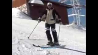 Урок №7 Видео как научиться кататься на горных лыжах