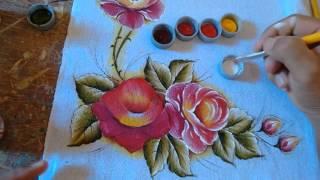 Roberto Ferreira – Como Pintar rosa (para iniciantes)