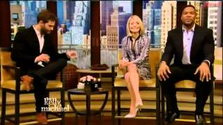 Jamie Dornan Interview   Fifty Shades of Grey   Live with Kelly and Michael 2015