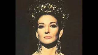 """María Callas - Puccini  """"Vissi d'arte""""  (Tosca)"""