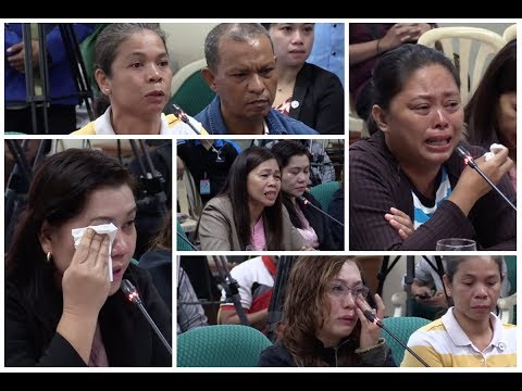 Mothers of minors recruited by leftist groups turn emotional at Senate probe