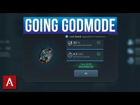 Using A Max Level GODMODE (Last Stand) Module / War Robots Live Stream | WR