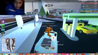 Roblox| Jail Break| (FT. O Productions and Ro Foxing)(Showing Most Of The Cars)Part 1
