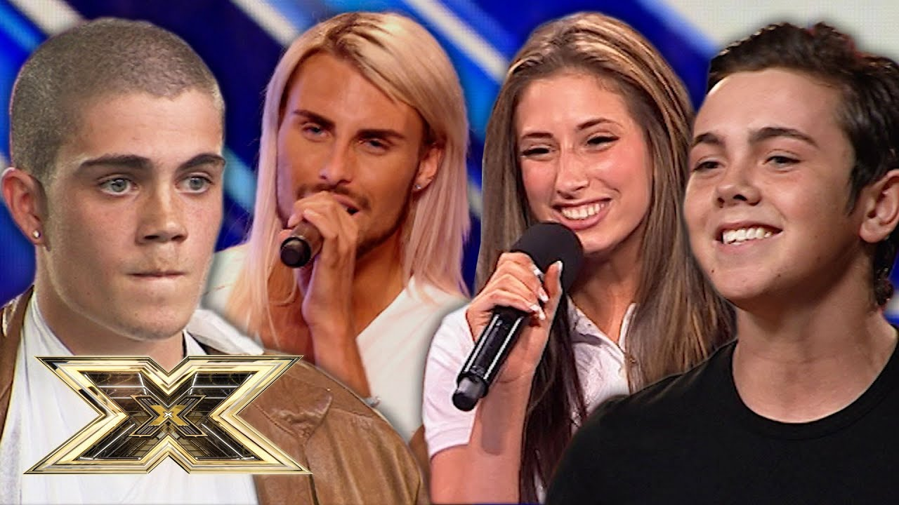 FAMOUS FACES you forgot auditioned! You'll be surprised! | The X Factor UK