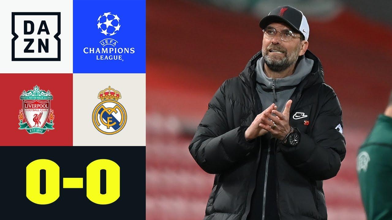 Real weiter! Aus für Jürgen Klopp & LFC: Liverpool - Real Madrid 0:0 | UEFA Champions League | DAZN