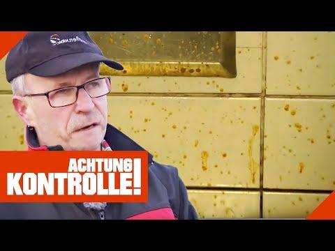 Streuselkuchen aus Sch****! Hartmut macht Autobahntoilette sauber!   Achtung Kontrolle   kabel eins