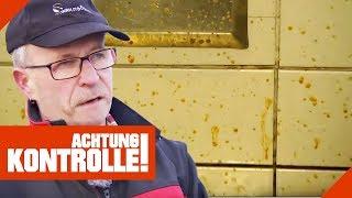 Streuselkuchen aus Sch****! Hartmut macht Autobahntoilette sauber! | Achtung Kontrolle | kabel eins