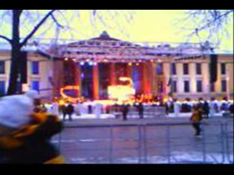 Daily preparation: Oslo 2011 medal ceremony Oslo