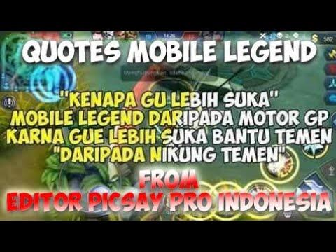 kata mutiara para gamers quotes mobile legends quotes pubg