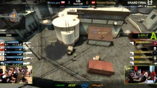 Acer A-Split Invitational CS:GO - Grand Finals - Virtus Pro Vs. Reason Gaming