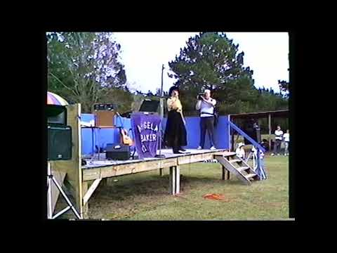 Recording Artist Angela Baker Performs at the Mill Creek Oyster Festival 1995