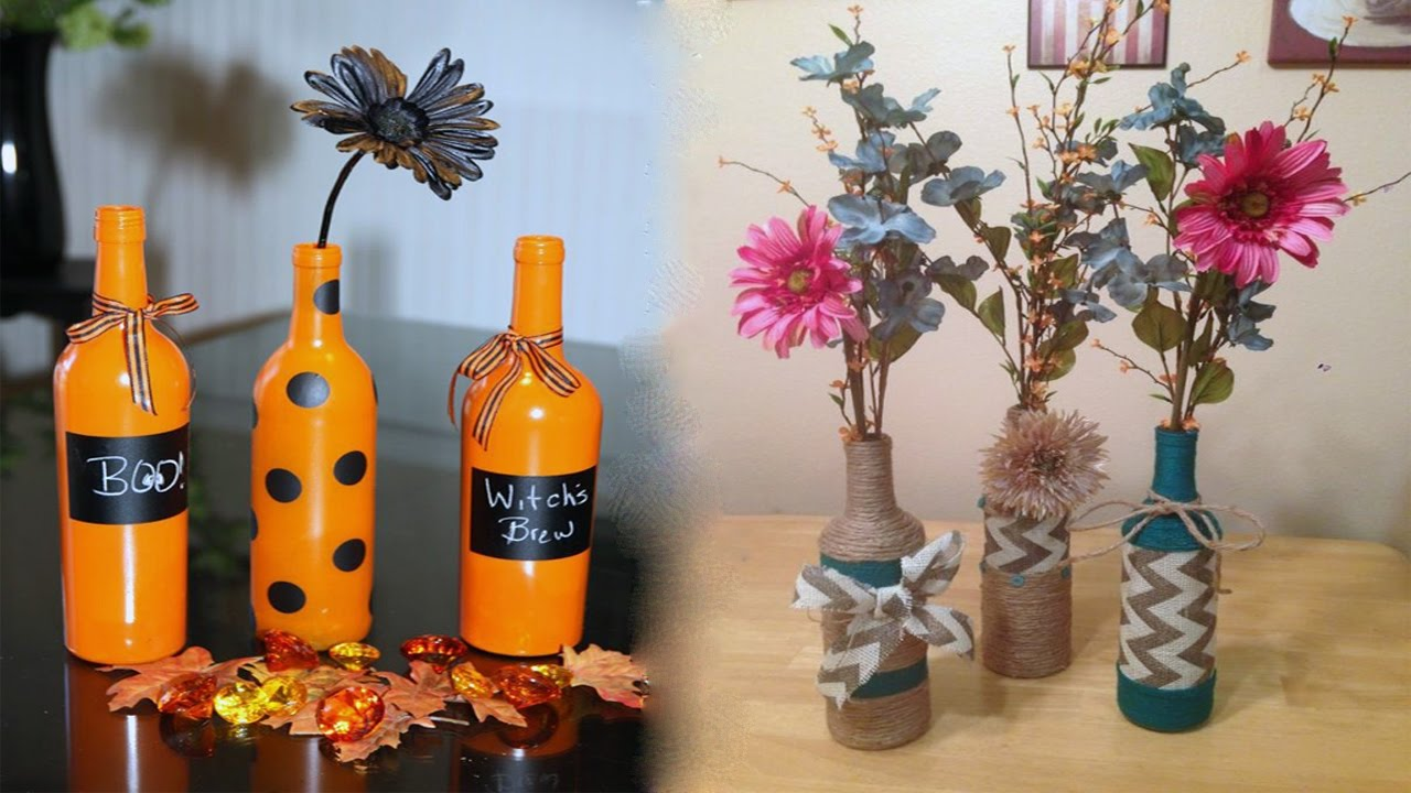 what can you make with glass bottles youtube