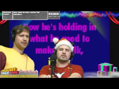 Alsmiffy and Turps singing Livin' on a Prayer
