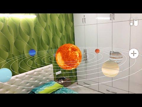 ARKit Solar System iOS 11
