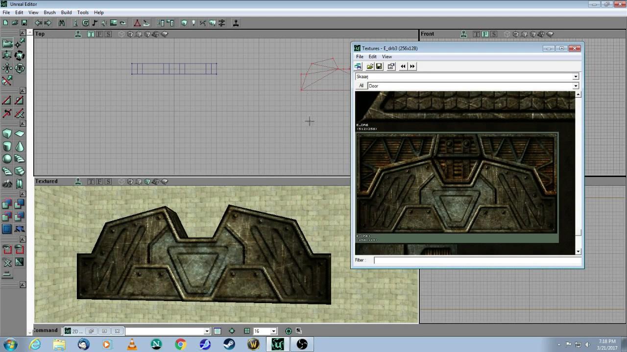 Unreal Editor 2 Tutorial - Advanced Doors - UT99 & Unreal Editor 2 Tutorial - Advanced Doors - UT99 - YouTube