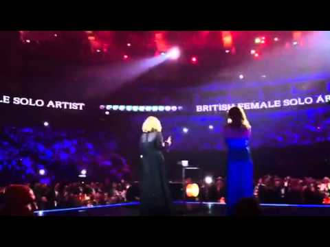 Adele - Best British Female @ 2012 Brit Awards