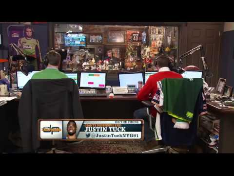 Justin Tuck on the Dan Patrick Show 12/3/13