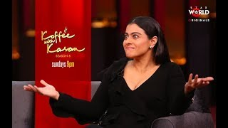 Koffee With Karan: Kajol and Ajay Devgn
