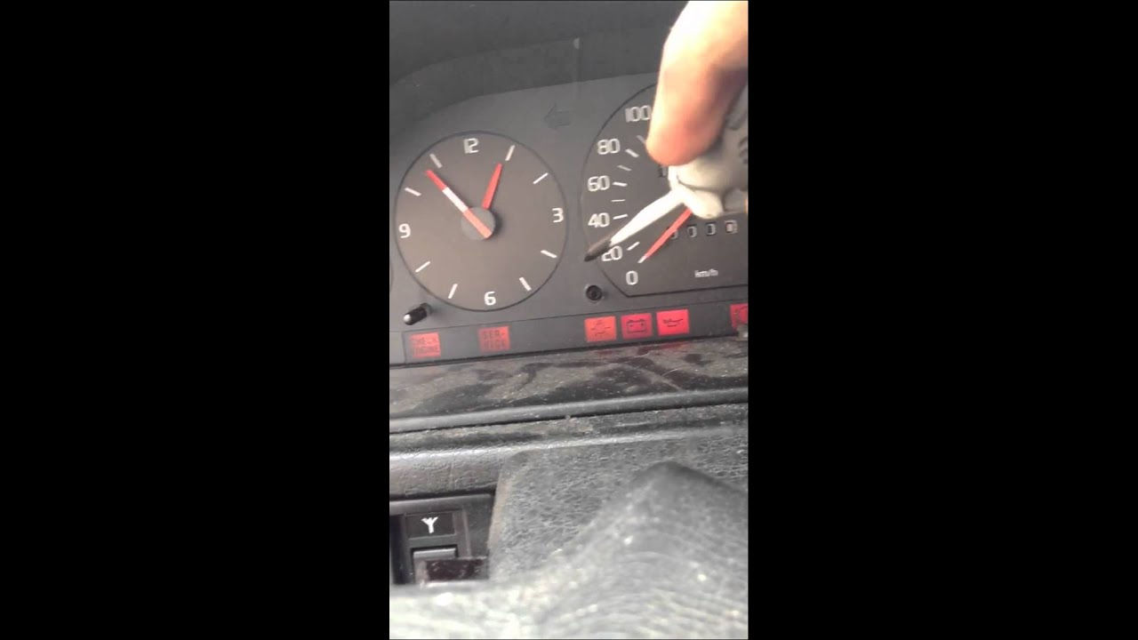 How to reset service engine light on 1993 Volvo 940 by: Kevin D - YouTube