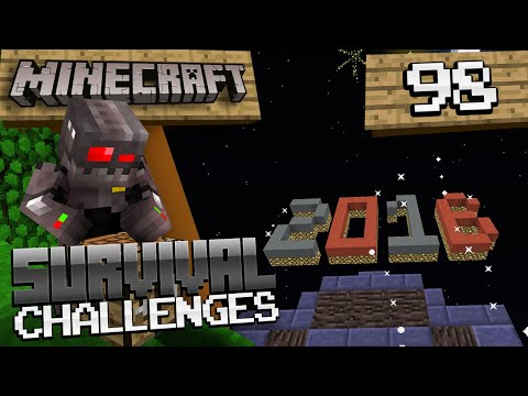 Minecraft Survival Challenges Episode 98: New Years & Goodbye Bayani