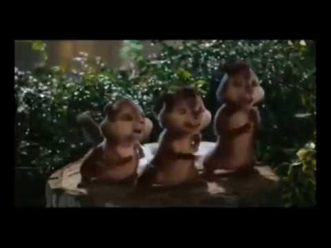 Alvin e os esquilos cantando Conquista Claudinho e Buchecha