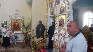 Александр Пресман благодарит православных в Раздельной