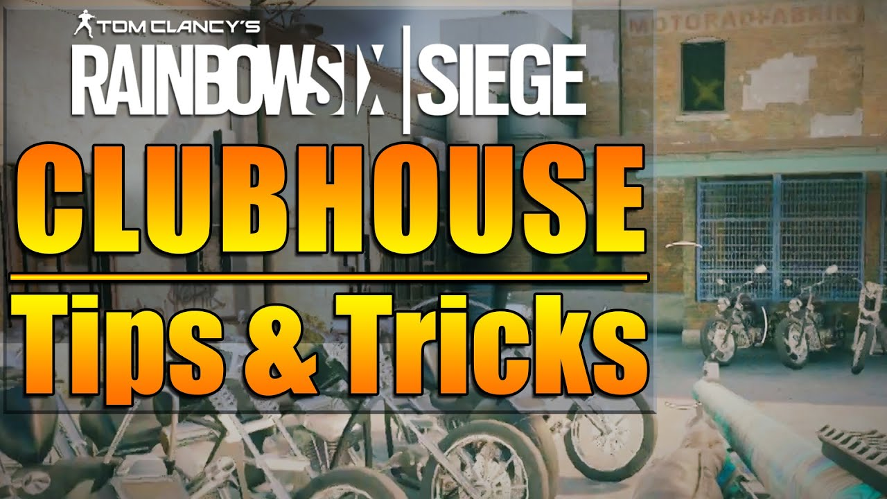 Rainbow Six Siege In Depth CLUBHOUSE