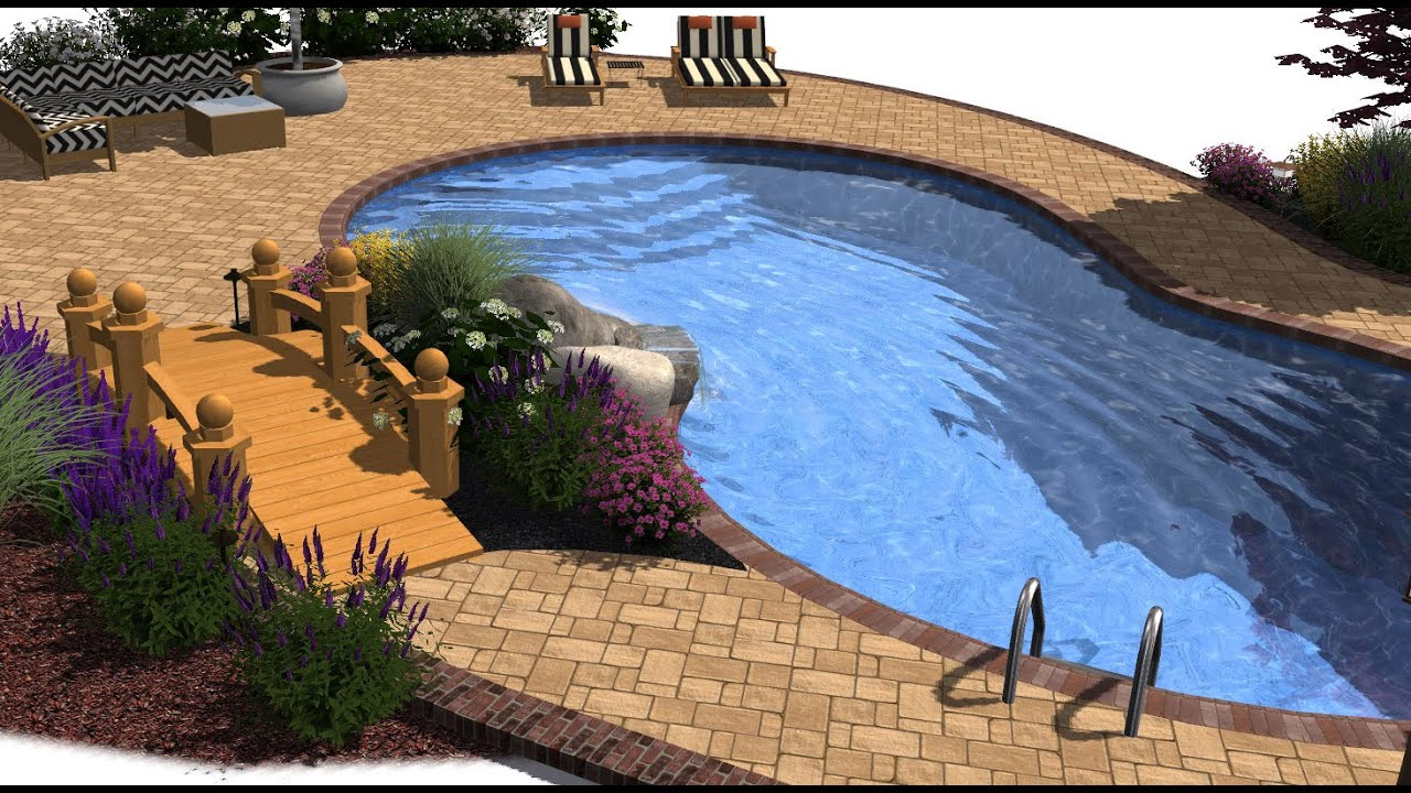 3d swimming pool design getting started tutorial youtube for Pool design program