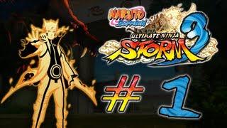 Naruto Shippuden Ultimate Ninja Storm 3 (Em Português) Parte 1 HD