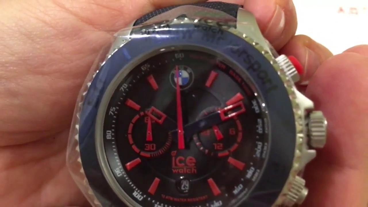Наручные часы BMW Motorsport ICE watch Sili (80262354183) - YouTube