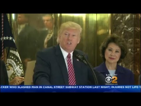 President To Leave Trump Tower