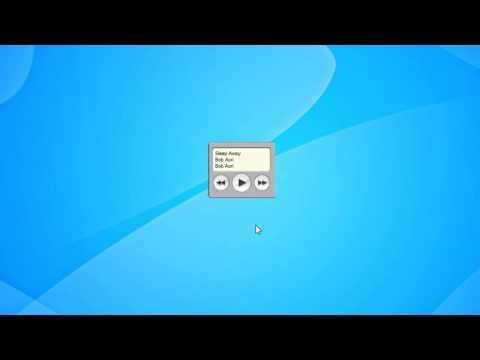 ITunes Gadget Windows 7 Gadget