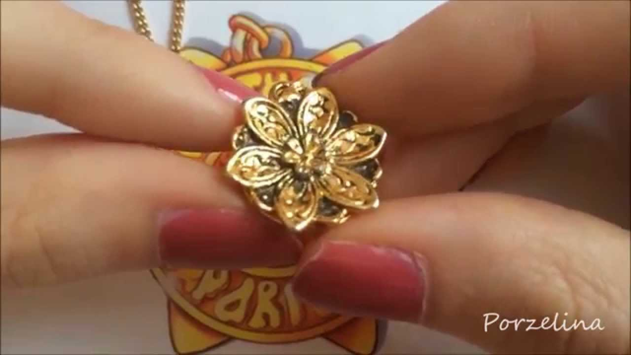 super cheap arriving latest fashion Anastasia *together in paris* necklace Review - YouTube